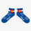 COOLMAX Colorado Flag Ankle Socks