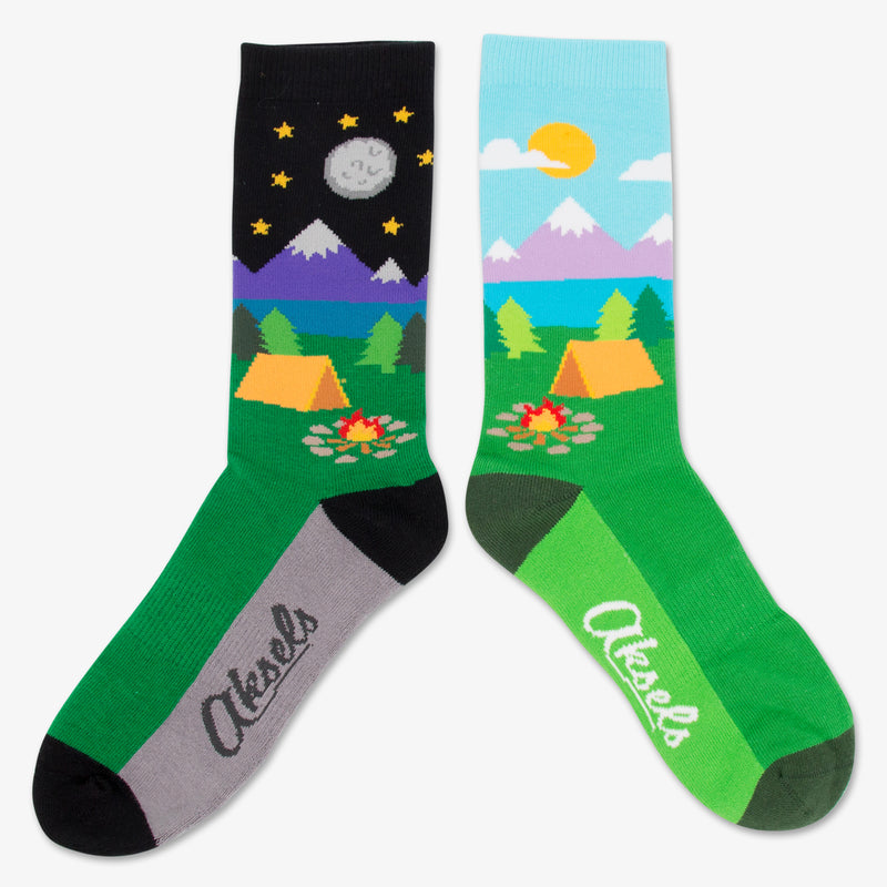 Aksels Split Pair Day and Night Camping Socks