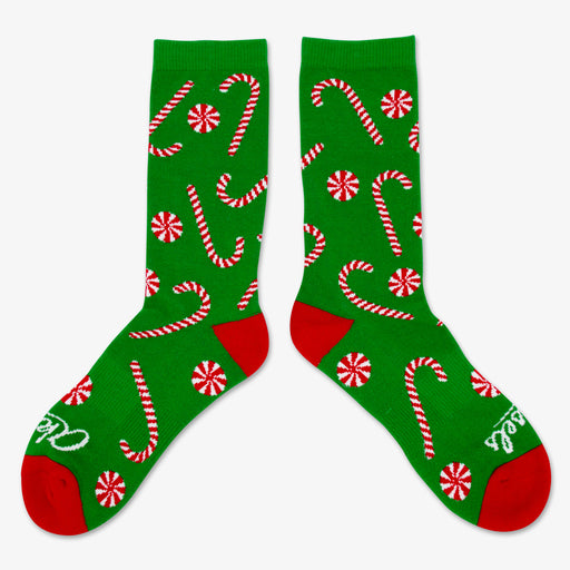Aksels All Over Print Candy Cane Socks