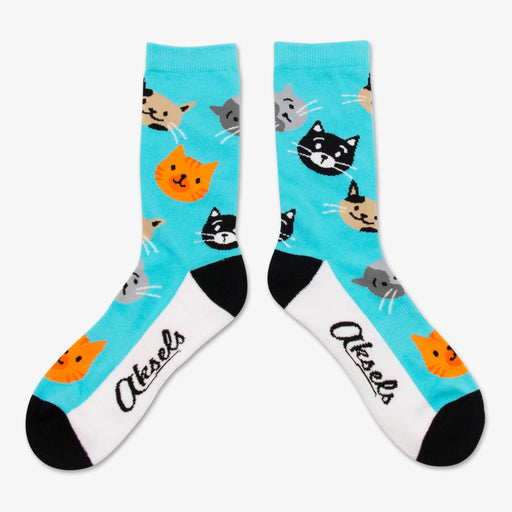 Aksels All Over Print Cat Socks