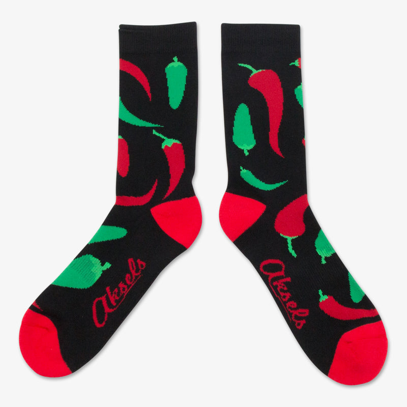 Aksels All Over Print Pepper Socks