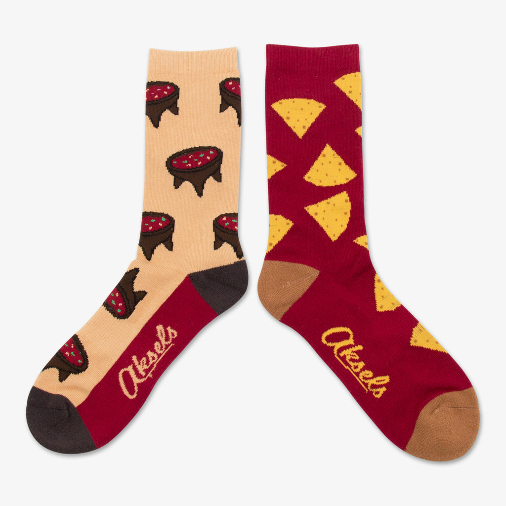 Aksels Split Pair Chips and Salsa Socks