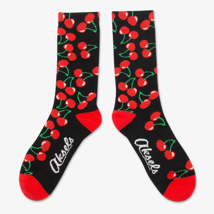 Aksels All Over Print Cherry Socks