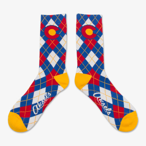 Aksels Colorado Flag Argyle Socks