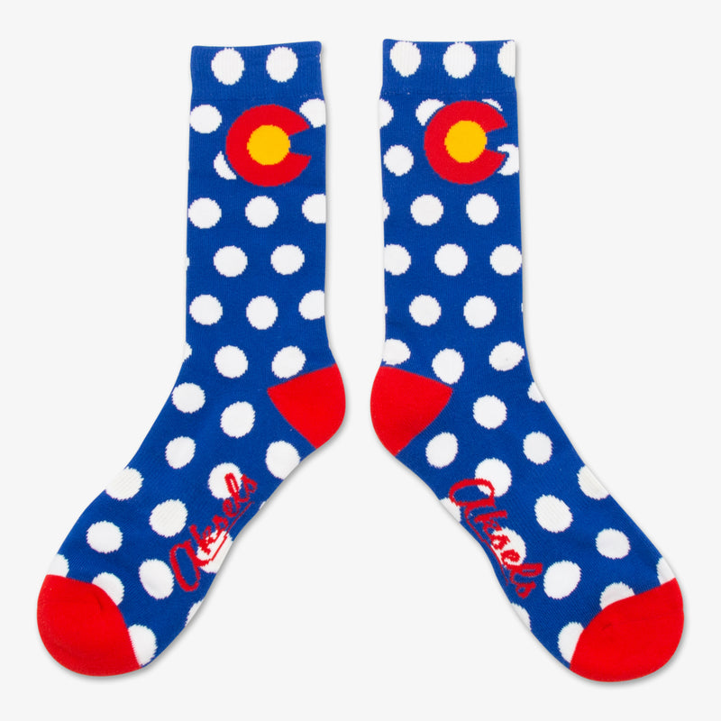 Aksels Colorado Flag Dots Socks