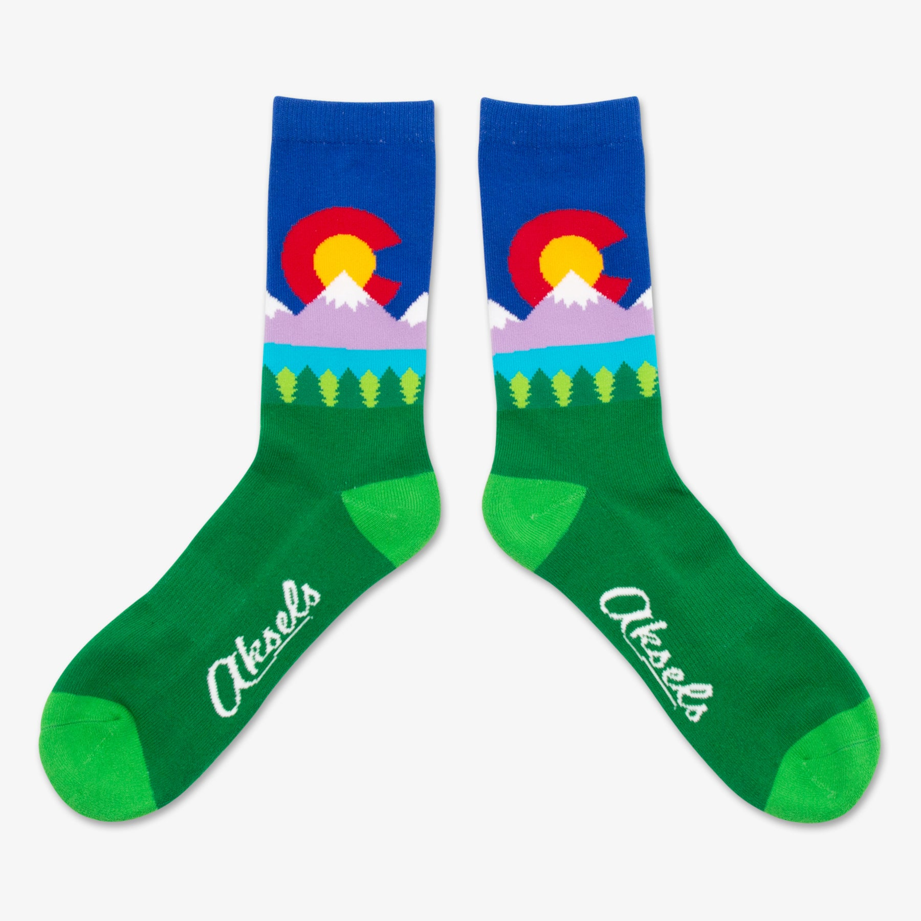 Colorado Lake Socks