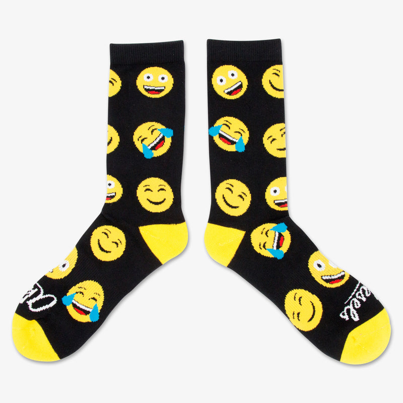 Aksels All Over Print Emoji Socks