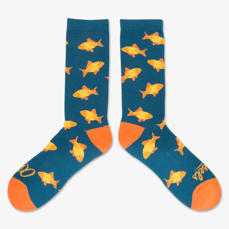 Aksels All Over Print Goldfish Socks