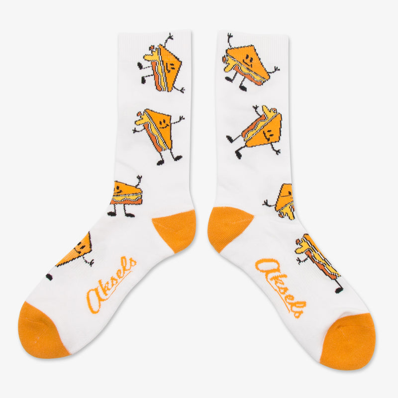 Aksels Grilled Cheese Socks