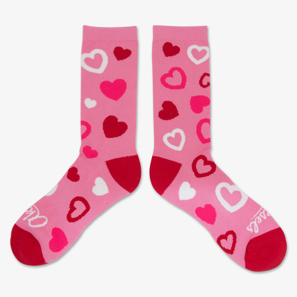 Aksels All Over Print Hearts Socks