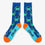 All Over Blue Crab Socks