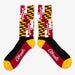 Aksels Maryland Flag Socks - Black