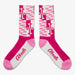 Aksels Maryland Flag Socks - Pink