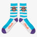 Aksels Striped Owl Socks