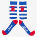 Aksels Striped Pennsylvania Liberty Bell Socks