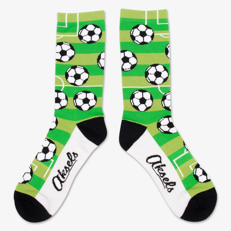 Aksels All Over Print Soccer Socks