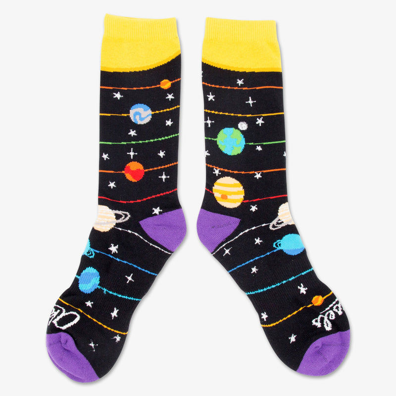 Aksels Space Themed Socks