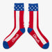 Aksels USA Stars and Stripes Socks
