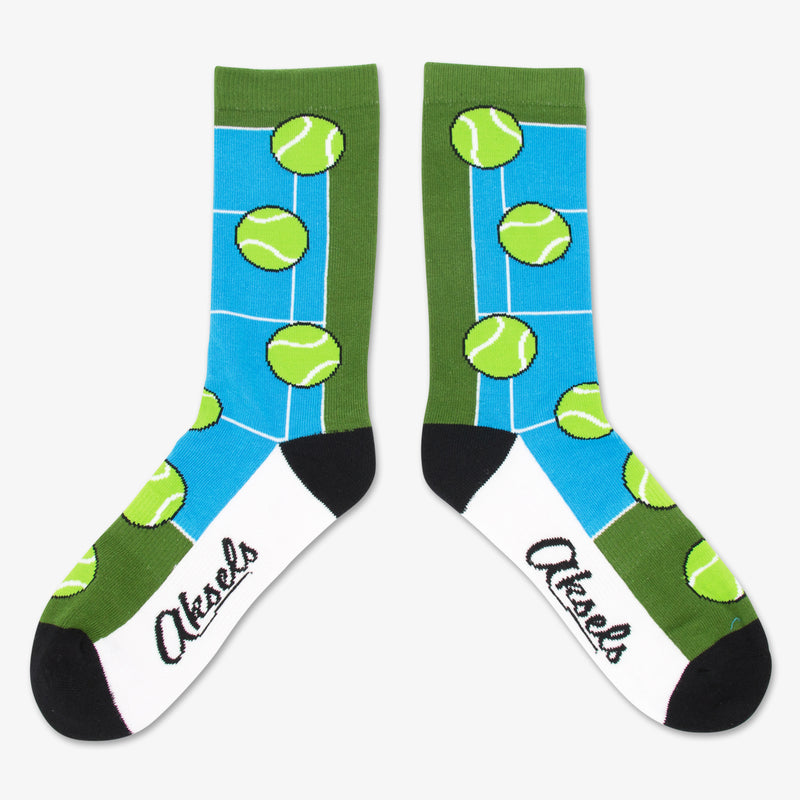 Aksels All Over Print Tennis Socks