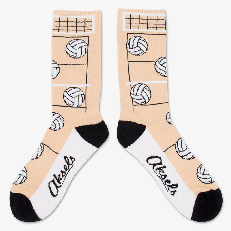 Aksels All Over Print Volleyball Socks