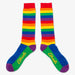 Aksels Knee High Rainbow Socks