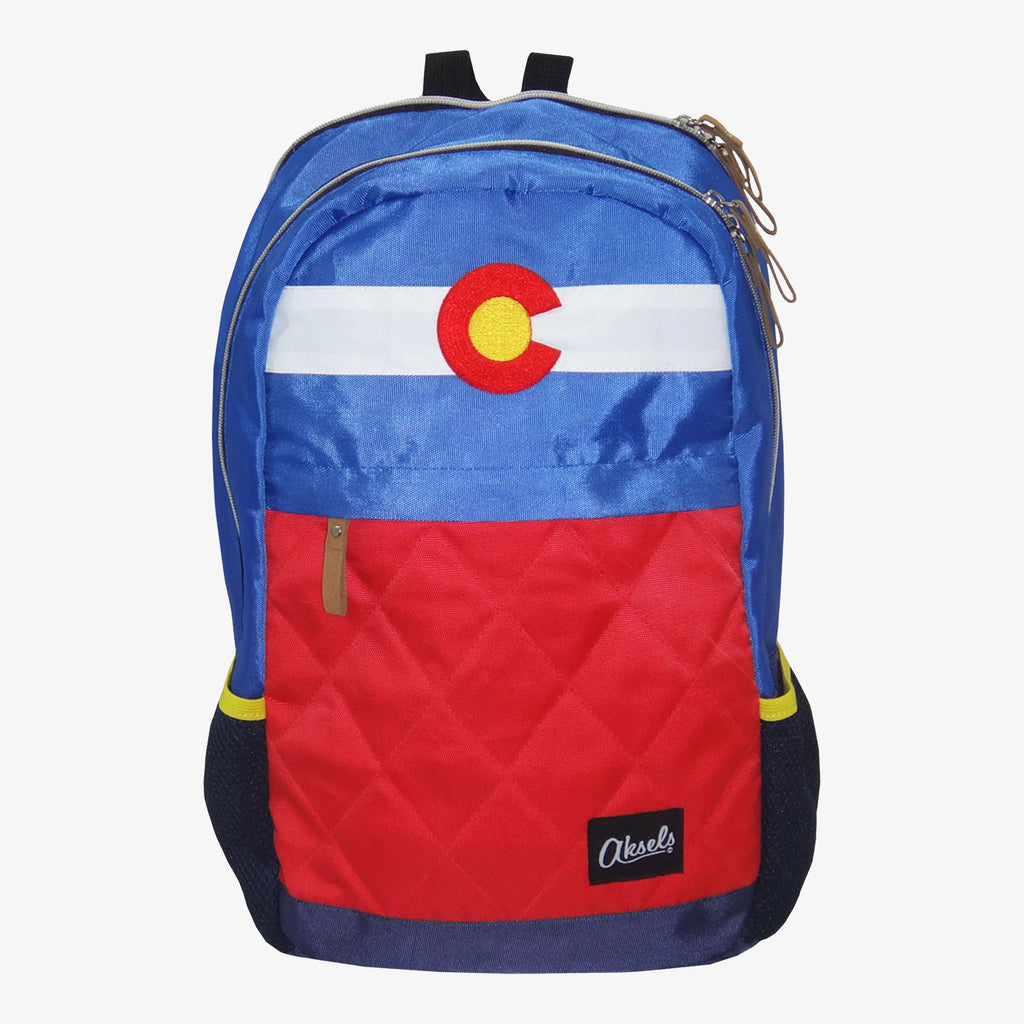 Aksels Colorado Flag Backpack