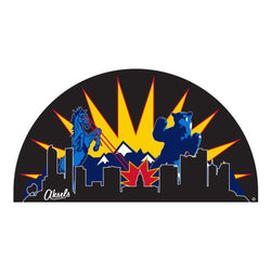Denver Battle Sticker - Black