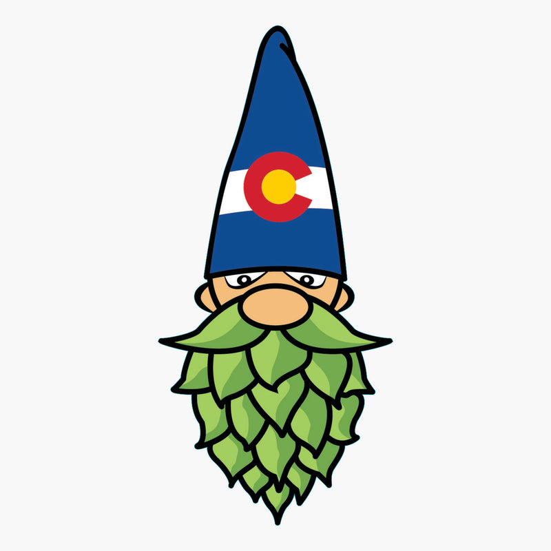 Aksels Colorado Hops Gnome Sticker