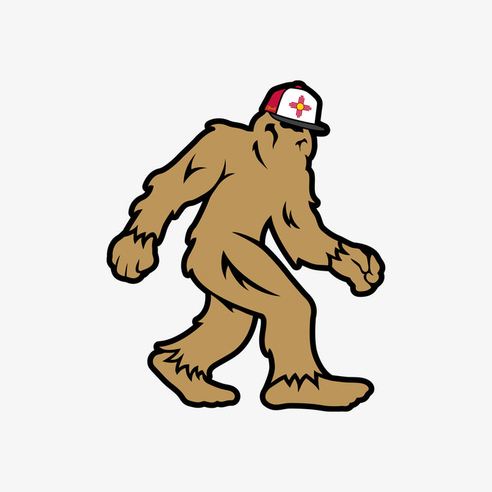 New Mexico Bigfoot Sticker