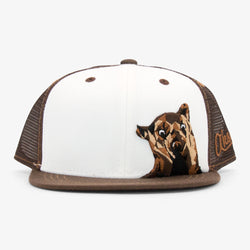 Bear Kids Hat - Brown