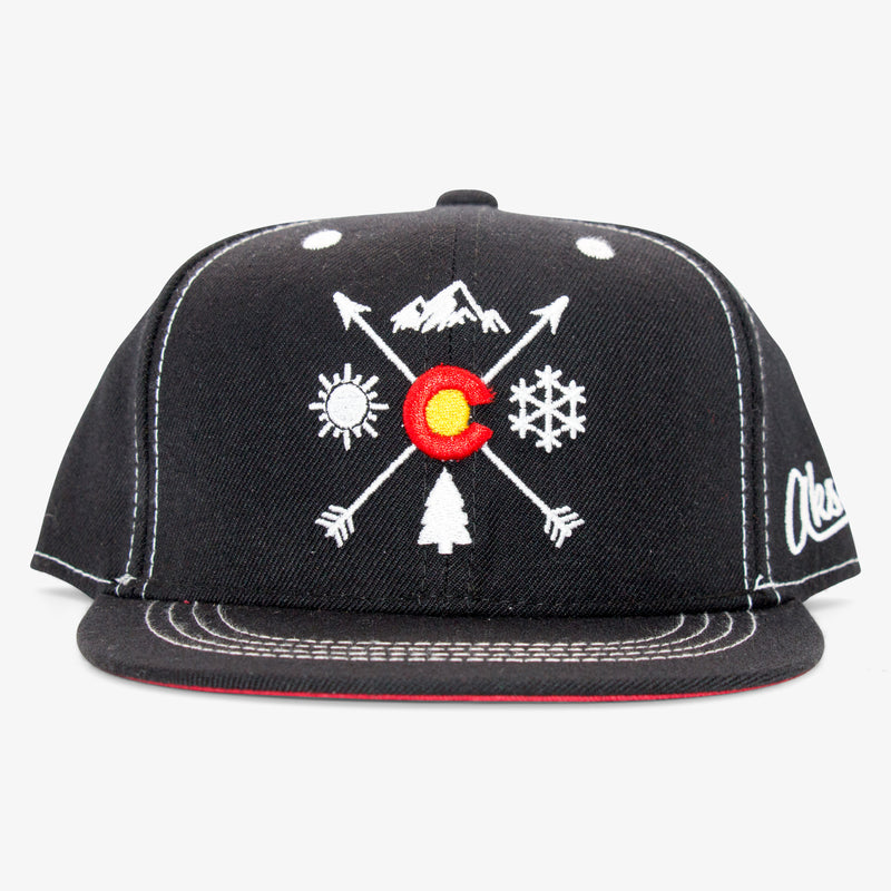 Aksels Youth Colorado Arrows Snapback Hat