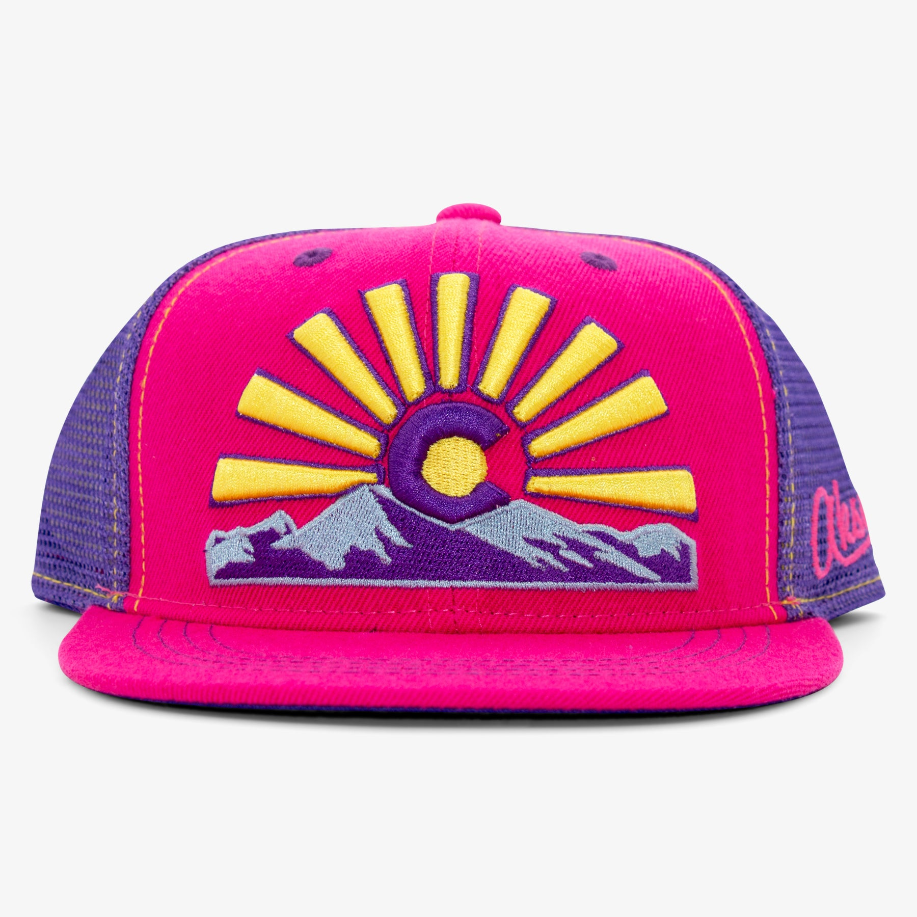 Youth Sunset Awesome Trucker Hat