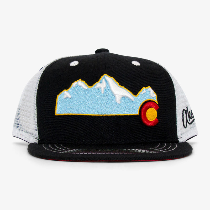 Aksels Youth Colorado Mountain Trucker Hat - Awesome