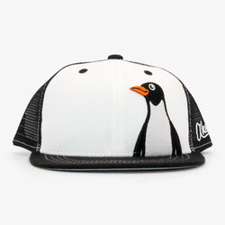 Kids Penguin Trucker Hat