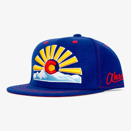 Aksels Youth Colorado Sunset Snapback Hat