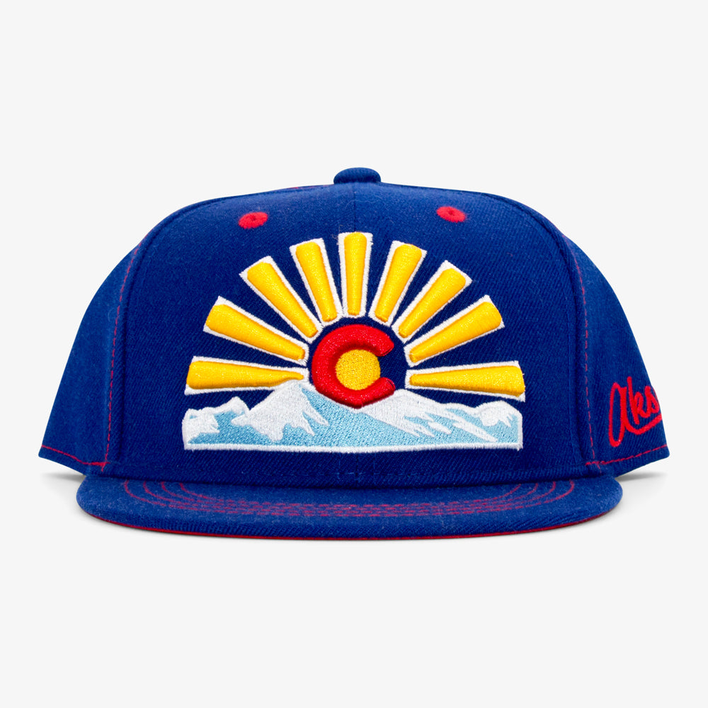 Youth Colorado Sunset Snapback Hat