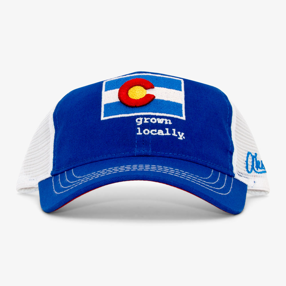 Youth Unstructured Grown Locally Colorado Trucker Hat