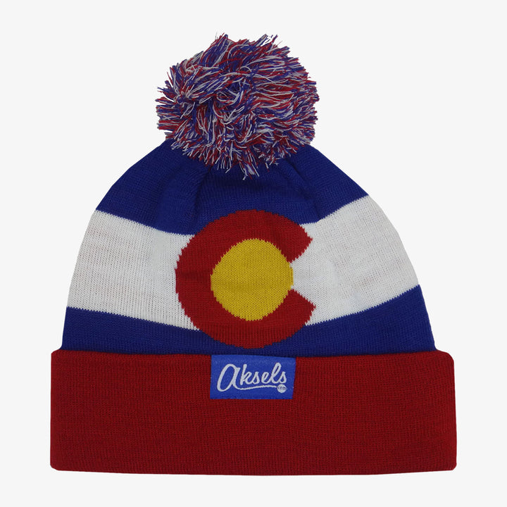 Kids Colorado Flag Beanie - Royal