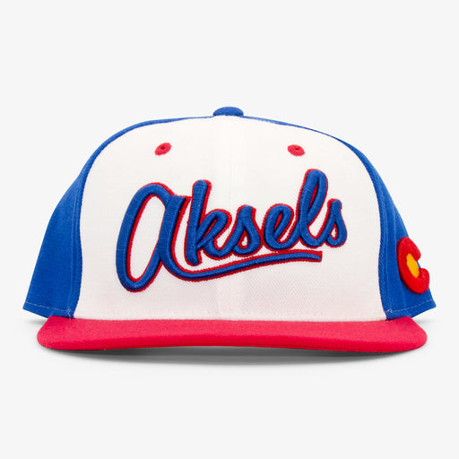 Aksels Aksels Throwback Snapback Hat