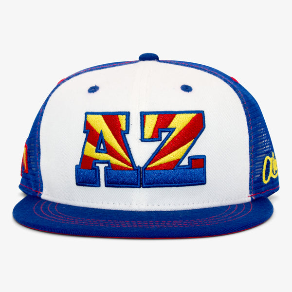 Arizona AZ Flat Bill Snapback Hat