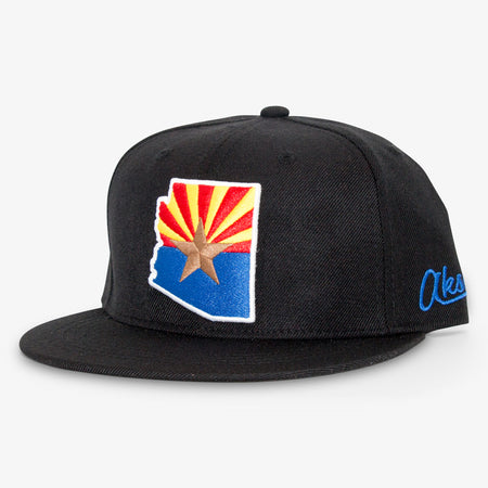 Aksels Arizona Flag Snapback Hat