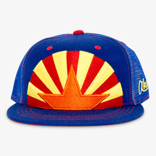 Aksels Arizona Star Trucker Hat - Royal