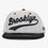 Cursive Brooklyn Snapback Hat