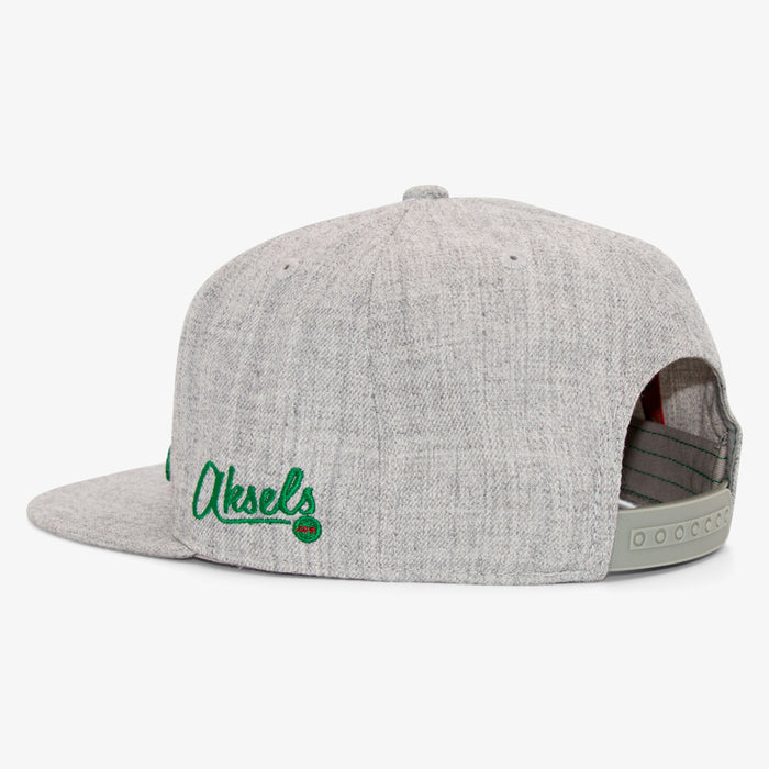 Aksels California Grizzly Snapback Hat - Heather