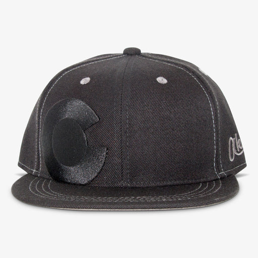 Aksels Colorado Big C Lined Snapback Hat
