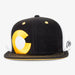 Aksels Colorado Big C Trucker Hat - Black/White/Yellow