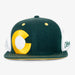 Aksels Colorado Big C Trucker Hat - Green/Yellow