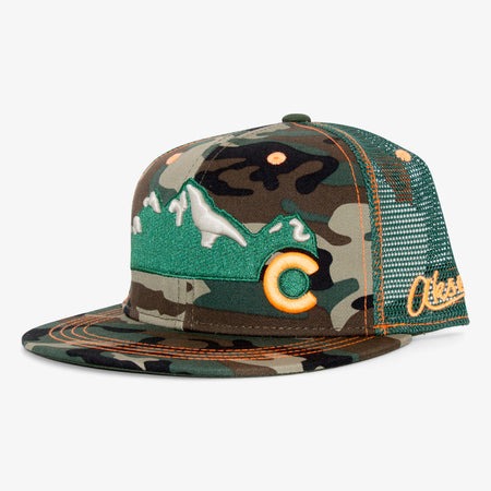 Aksels Colorado Mountain Trucker Hat - All Black