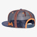 Aksels Colorado Big C Trucker Hat - Navy/Orange