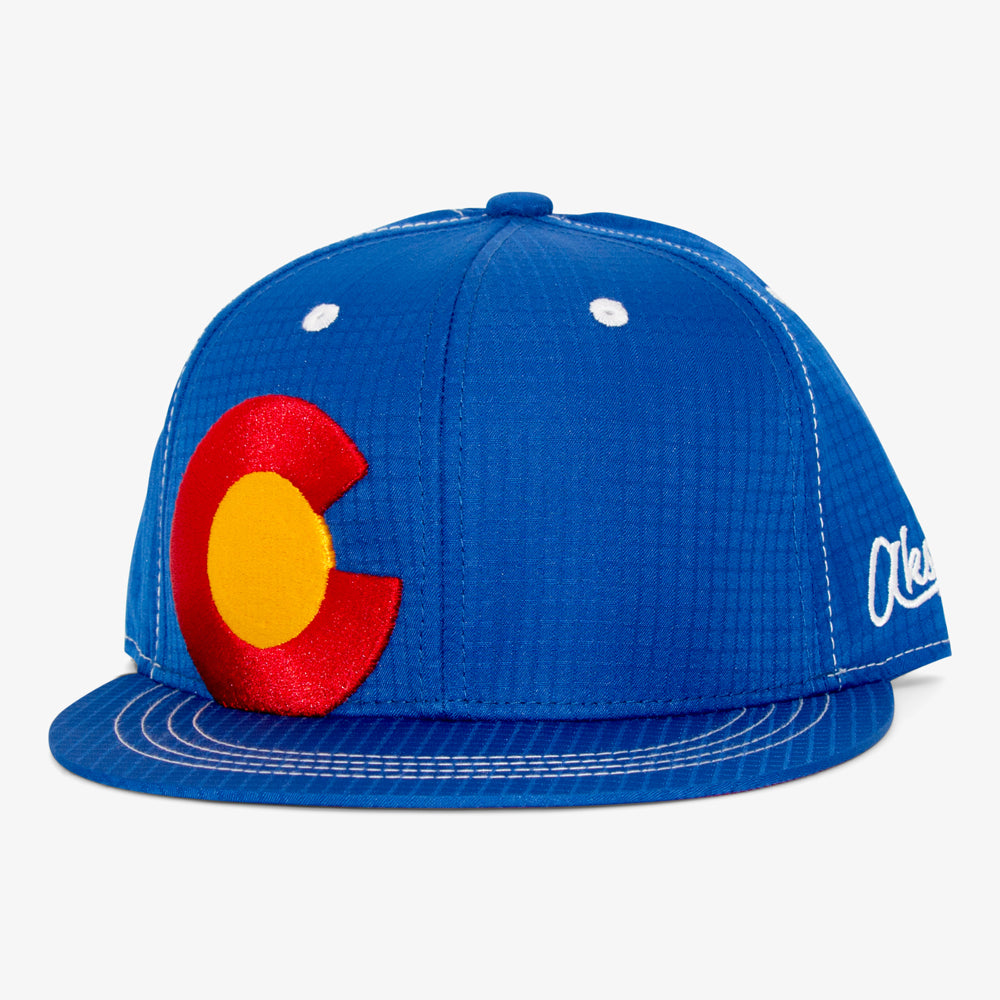 Aksels Colorado Big C Ripstop Snapback Hat